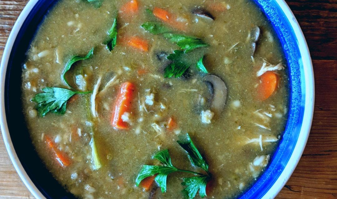 Grandma Shasha's Chicken Soup